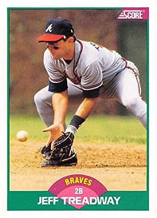 Amazon.com: 1989 Score Rookie/Traded #18T Jeff Treadway