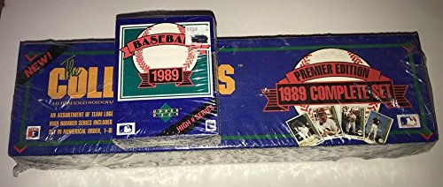 1989 Upper Deck Baseball Factory Sealed 800 Card Set with Ken Griffey Jr. ()