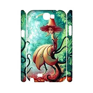 QNMLGB Hard Plastic of Fairy Cover Phone Case For Samsung Galaxy Note 2 N7100 [Pattern-1] hjbrhga1544