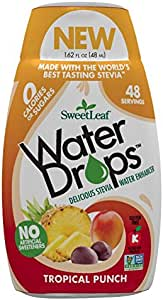 SweetLeaf Tropical Punch Water Drops, 48 ml, Tropical Punch