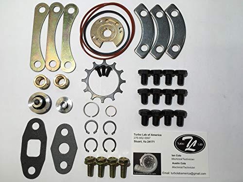 AAA+ U.S.A. Upgraded Garrett Precision Turbo 360 Rebuild Kit 50 60 Trim To4e To4b ()