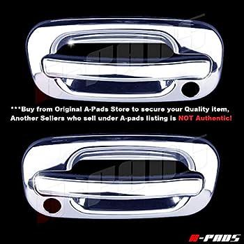 2 Fuel Tank Door Bumper 1999-06 Chevy Silverado 00-06 Yukon 02-06 Escalade Black