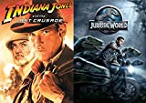 Jurassic World + Indiana Jones & The Last Crusade Special Edition DVD Lost Special Adventure Set