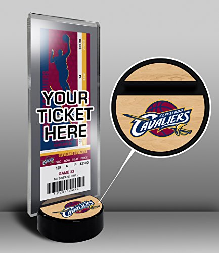 NBA Cleveland Cavaliers Ticket Display Stand, One Size, Multicolored by That's My Ticket