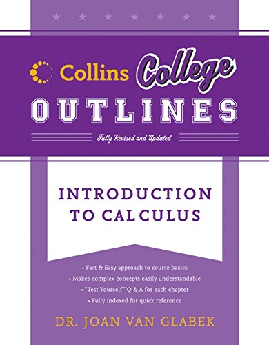 Introduction to Calculus (Collins College Outlines)