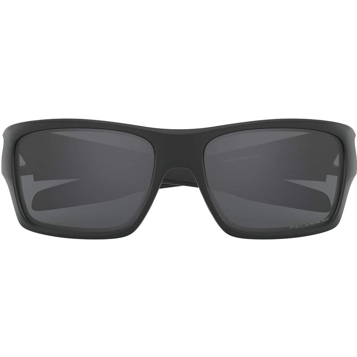 17361da80fc2 Amazon.com: Oakley Men's Turbine Rectangular Sunglasses, Black Ink, 65 mm:  Clothing