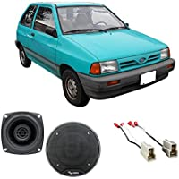 Fits Ford Festiva 1988-1993 Front Dash Factory Replacement Harmony HA-R4 Speakers New