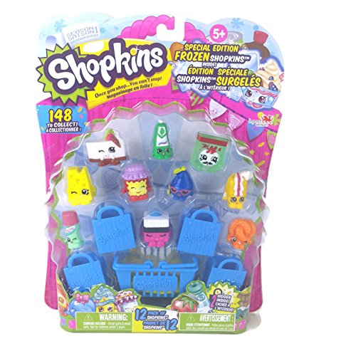 Shopkins Season 1 - 12 Pack Special Edition Frozen Pa Pizza Green ( Style #11) -  Moose Toys