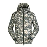 Hzcx Fashion Men's Softshell Water-Resistant Tactical Fleece Outdoor Jackets 2018031401-85-ACU-US L TAG 2XL