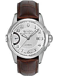 Accu Swiss 63B171 Mens Accu Swiss Brown Leather Strap Watch