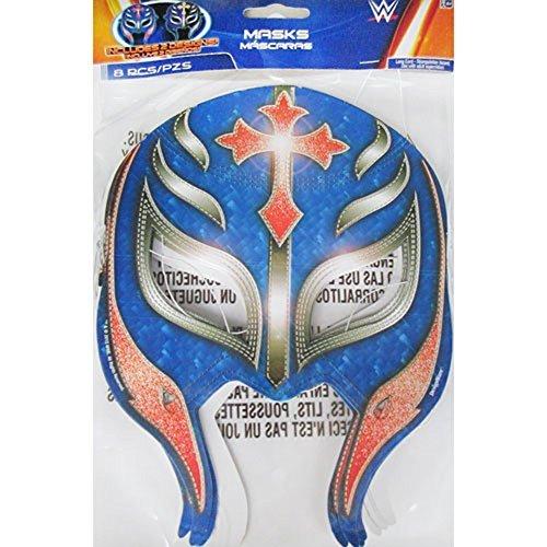 Wwe Paper Masks (WWE Wrestling Paper Masks (8ct))