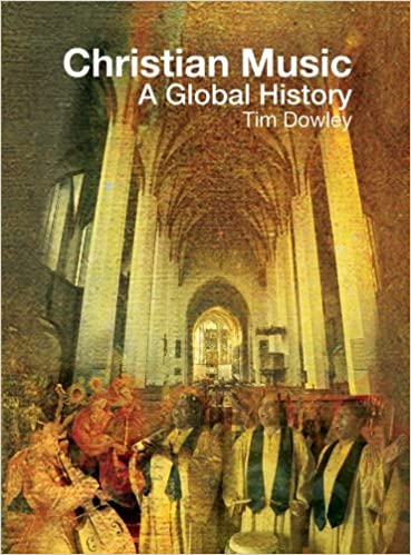 Book Cover - Title in white lettering over an illustration of priests and congregation standing in a cathedral.