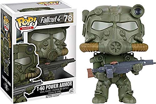 Fallout - Pop Vinyl Figura T-60 Green Power Armor Limited Edition (Funko FUN87
