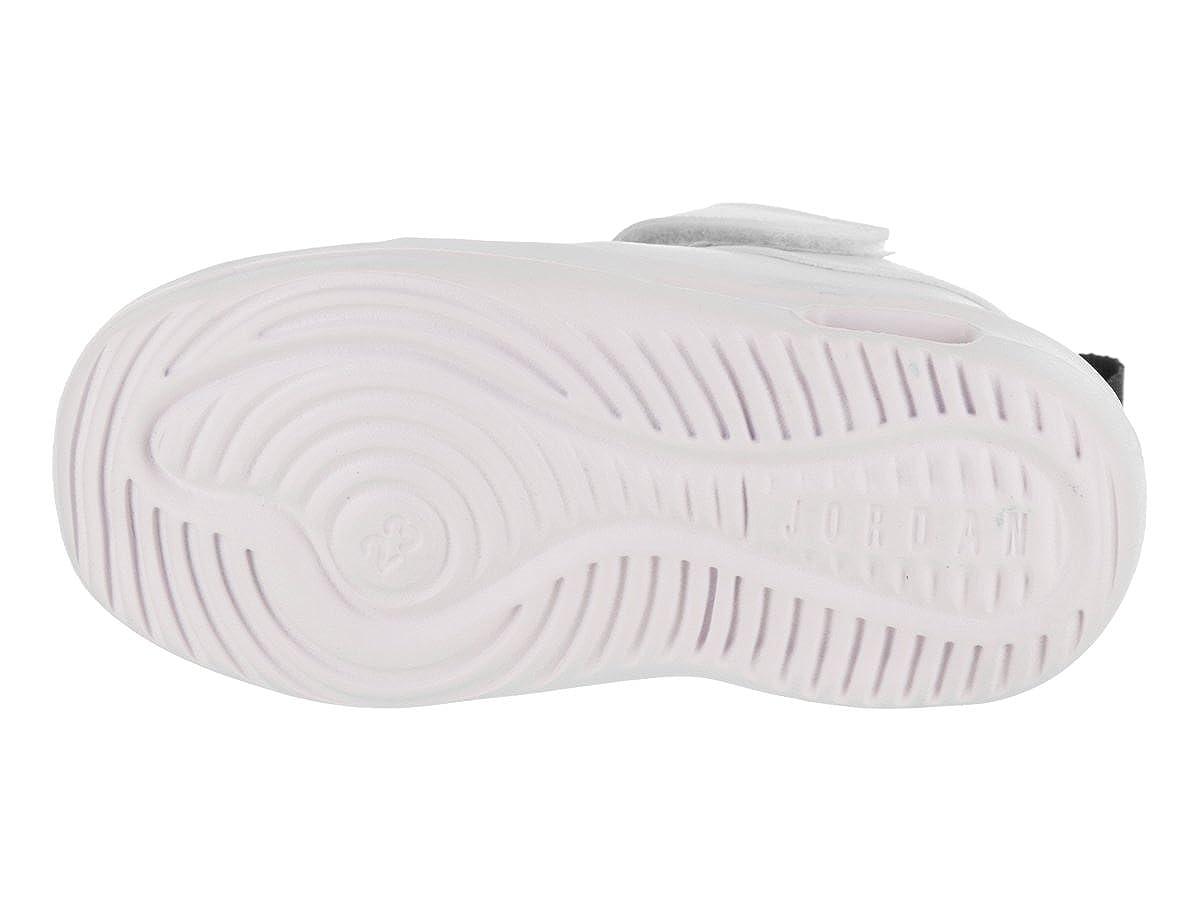d6489acf7cc8b Jordan Nike Toddlers Air First Class GT White/Fuchsia Blast Black Casual  Shoe 7 Infants US