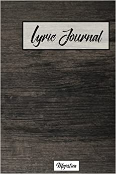 Lyric journal: Modern Office Desk Design, Song Writing Journal with Lined Staff Paper For Jotting down Lyrics And Music. Best Gift for Musicians, ... mania, best songwriting friends) (Volume 6)