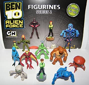 Ben 10 Alien Force Figures Vending Machine Toys By A And A Amazon