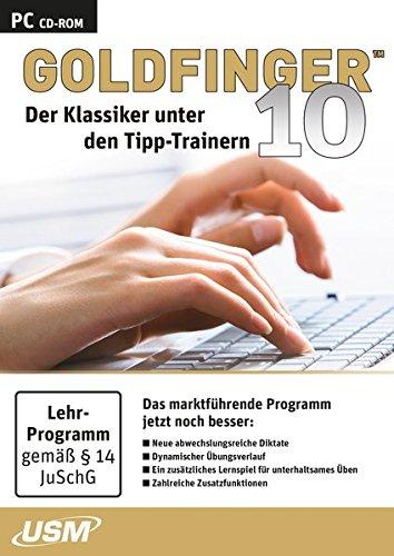 Price comparison product image Goldfinger 10 (CD-ROM): Der Klassiker unter den Tipp-Trainern