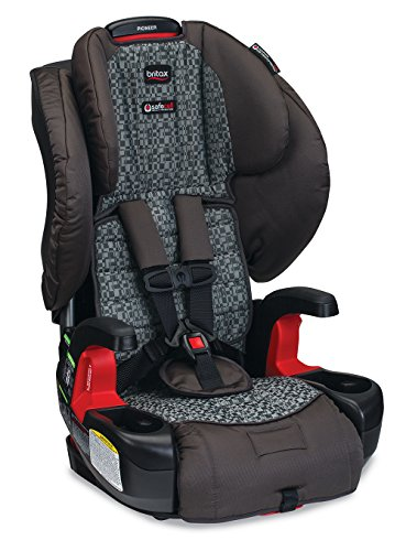 Britax Pioneer G1.1 Harness-2-Booster Car Seat, Silver Cloud