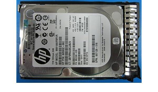 652749-B21 HP 653954-001 1 TB 2.5 Hard Drive