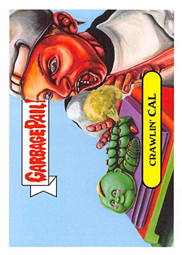 2019 Topps Garbage Pail Kids We Hate the '90s Toys Sticker #6b CRAWLIN' CAL Sticker Trading Card