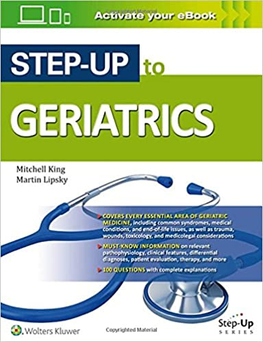 Step up to geriatrics step up series 9781496301277 medicine step up to geriatrics step up series first edition fandeluxe Choice Image