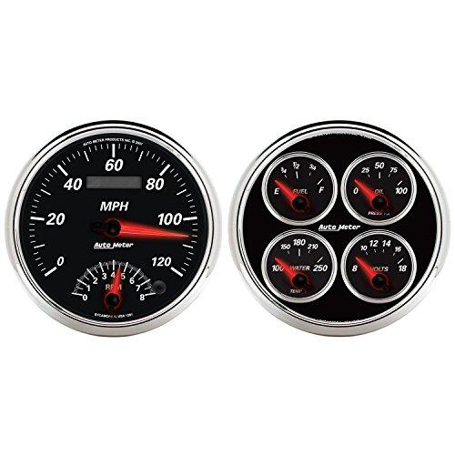 Auto Meter 1204 Designer Black II 5