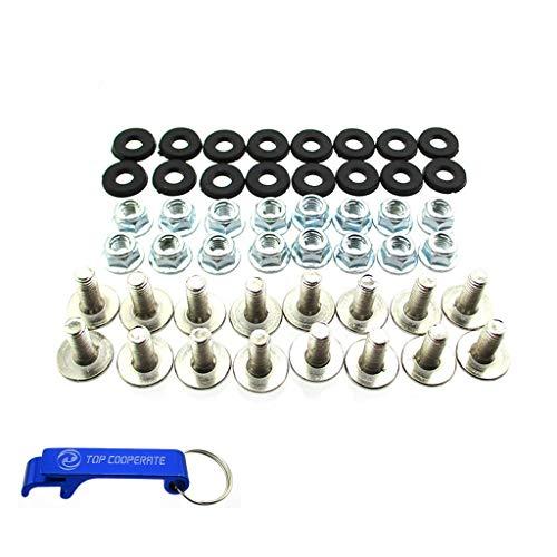 TC-Motor Plastic Fender Bolt Washer Nut Screw Kit For 50cc 70cc 90cc 110cc 125cc ATV Quad 4 Wheeler (Kits Body Atv)