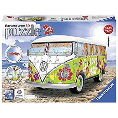Ravensburger 12532 Camper Volkswagen Hippie Puzzle 3d