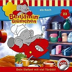 Benjamin als Koch (Benjamin Blümchen 23)