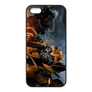 Bumblebee Transformers Black Phone Case For iPhone 5s