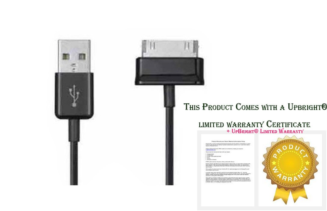 UPBRIGHT USB Data//Charging Cable Cord for Samsung Galaxy Tab 2 GT-P3113-TS8A 7 Android Tablet