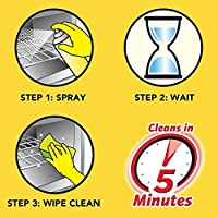 Easy-Off Fume Free Max Cleaner - steps