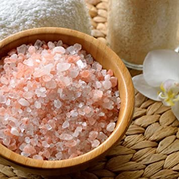 Amazon.com: The Spice Lab Pink Himalayan Crystal Bath Sea Salt - Fast  Dissolving Coarse Grain - Nutrient and Mineral Fortified For Health (10  Pound): Beauty