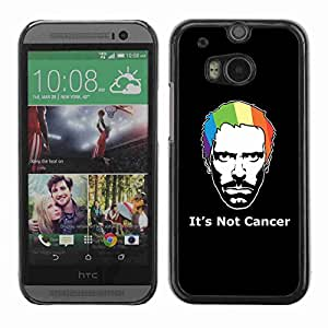 Planetar® ( Its Not Cancer House ) Fundas Cover Cubre Hard Case Cover All New HTC One (M8)