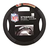 Automotive : Fremont Die NFL San Francisco 49Ers Poly-Suede Steering Wheel Cover