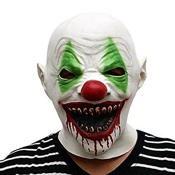 Thematys Horror Clown Grusel Maske Perfekt Fur Fasching Karneval