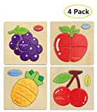 3D Jigsaw Wooden Puzzles for Girls Boys Toddlers Baby Educational Toys,Preschool Early Educational
