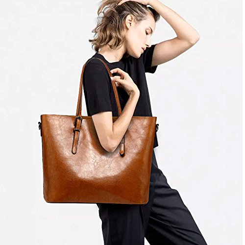 Fashion fourre Slack souple Style SHELI Marron Womens à Western en Sac bandoulière cuir tout PwgAEa