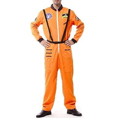 jiyaru adultos divertido disfraz de astronauta cosplay uniforme ...