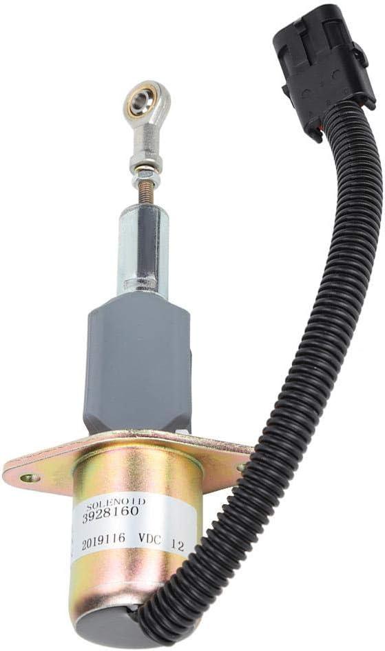 Electrov/álvula de parada de combustible solenoide de 12 V de acero de primera calidad accesorios de excavadora TOSD-03-022 Electrov/álvula