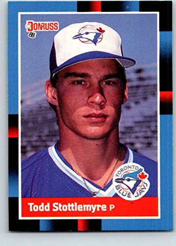 Baseball MLB 1988 Donruss #658 Todd Stottlemyre NM-MT RC Rookie Blue -