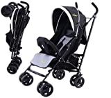 Safeplus Foldable Baby Stroller Buggy Kids Jogger Travel Infant Pushchair Lightweight