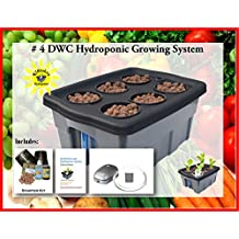 Hydroponic system complete BUBBLER kit #4-6 H2OtoGro