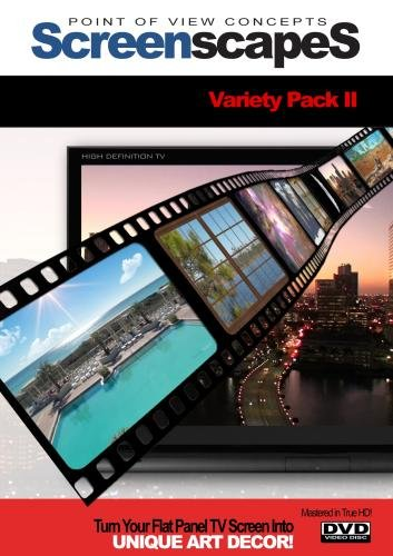 (ScreenscapeS: Variety Pack II (HD video screen-savers for your TV!))