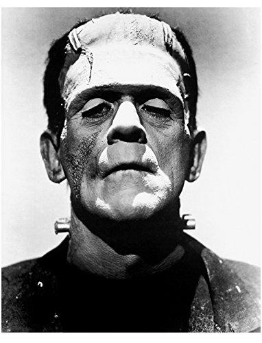 Boris Karloff 8inch x 10inch Photo Thriller Frankenstein The Mummy How the Grinch Stole Christmas Head Shot as Frankenstein's Monster Pose 2 kn