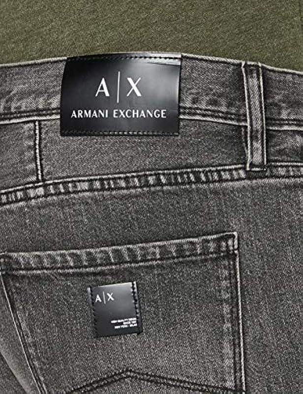 Armani Exchange dżinsy męskie: Odzież