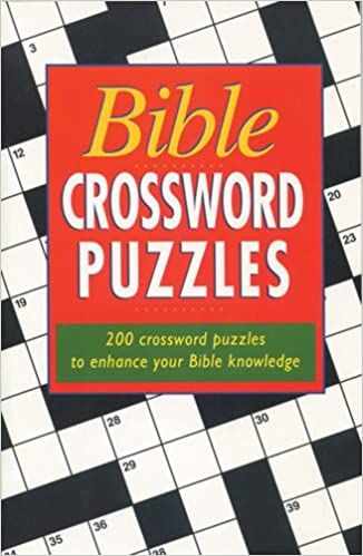 Bible Crossword Puzzles 200 Crossword Puzzles To Enhance Your Bible Knowledge Tyndale House Publishers 9780842300773 Amazon Com Books
