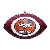 NFL Denver Broncos Replica Football Ornament