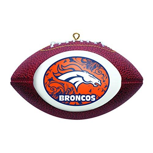 Broncos Replica Football Ornament