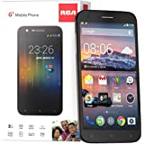 "RCA G1 5.5"" HD, Unlocked Dual Sim Smartphone - Black"